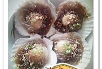 蒜蓉粉丝蒸扇贝的做法