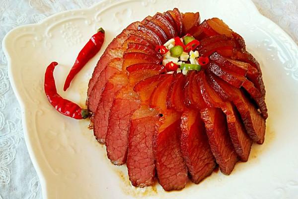 梅干菜蒸腊肉的做法