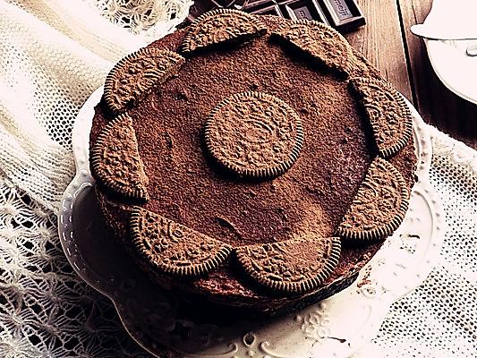 古典可可慕斯蛋糕的做法