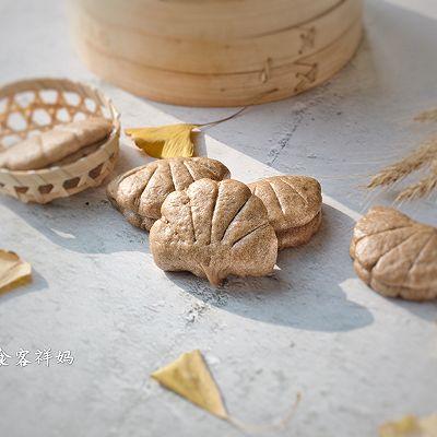 荞麦银杏夹饼
