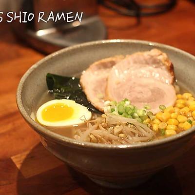 日式清汤五花肉拉面