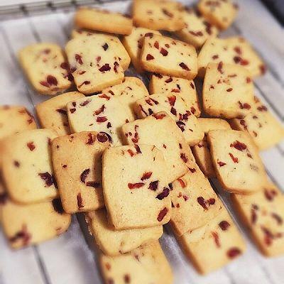 蔓越莓曲奇饼干