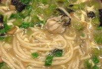混汤海蛎子面的做法