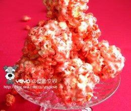 草莓米花球的做法