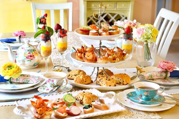 美丽简约的英式下午茶--上篇#相约MOF#的做法