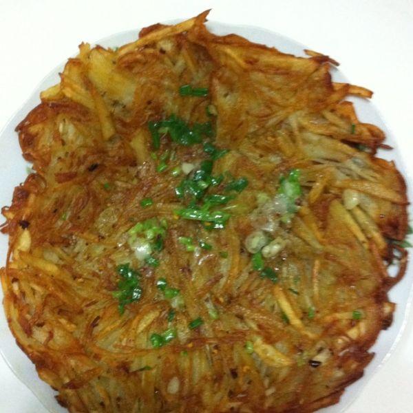 干焙土豆丝的做法