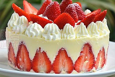 草莓慕斯蛋糕#豆果5周年#