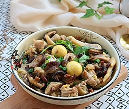 姜葱冬菇蒸滑鸡#厨此之外,锦享美味#的做法