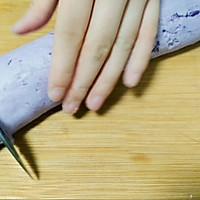 奶香紫薯餅的做法圖解5