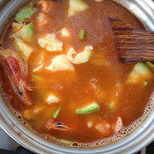 海鲜豆腐汤