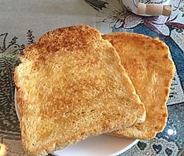 蜂蜜黄油吐司脆片的做法
