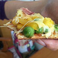 利仁电饼铛试用——海陆双拼披萨(附薄饼底与披萨酱制作)的做法图解16