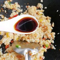 #秋天怎么吃#虾仁时蔬炒饭的做法图解6