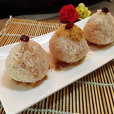 蔓越莓柠香爆浆饭团