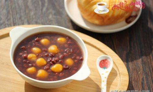 南瓜小汤圆红豆汤的做法