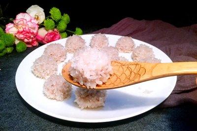 苏州珍珠糯米丸子