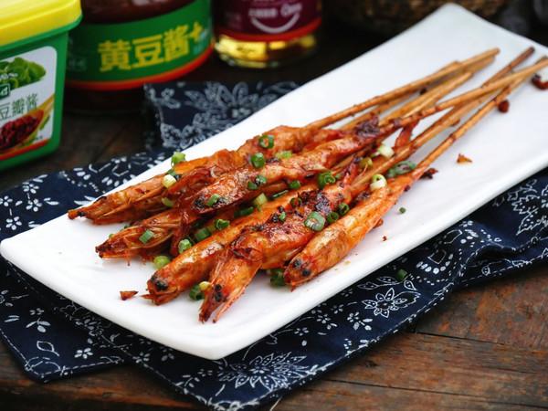椒麻串串虾的做法