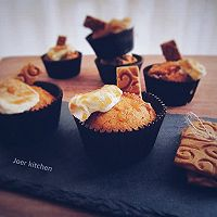 焦糖杯子蛋糕#美的智烤大师烤箱#