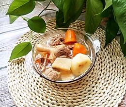 #换着花样吃早餐#粉葛鸭肉汤的做法