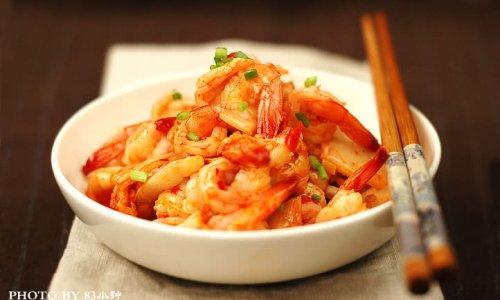 泡菜虾的做法
