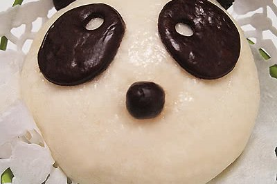 【熊猫馒头】&【熊猫蜜豆包】