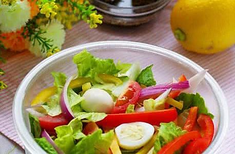 春色沙拉的做法