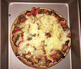 八寸披萨饼胚的做法