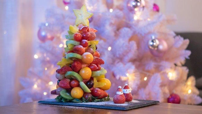 水果圣诞树【初味日记】