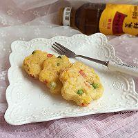 三色米饼#金龙鱼外婆乡小榨菜籽油 外婆的食光机#