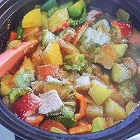 蔬菜蒸粗麦粉--塔吉锅菜谱的做法图解10