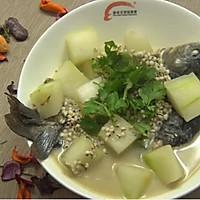 冬瓜薏米鲫鱼汤
