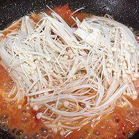 #餐桌上的春日限定# 番茄金针菇烧日本豆腐!超下饭!的做法图解7