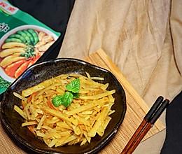 #饕餮美味视觉盛宴#家乐卤汁的神仙吃法卤汁炒土豆丝的做法