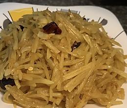 #巨下饭的家常菜#酸辣土豆丝的做法