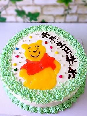 妈妈的小熊维尼手绘蛋糕的做法的评论 怎么样 豆果美食