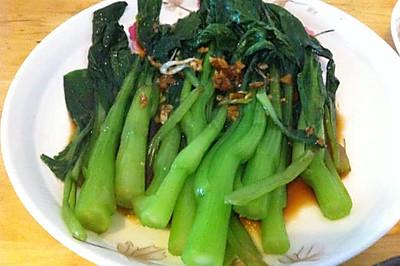 豉汁菜芯(粤菜)
