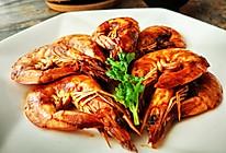 茄汁焅大虾的做法