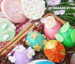 快乐复活节系列—彩蛋蛋糕与巧克力饼的做法