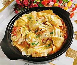 蛋饺豆腐煲的做法