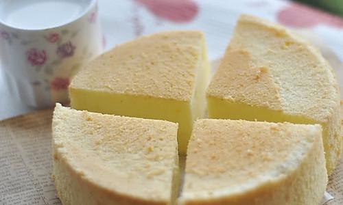 压力锅(电饭煲)做戚风蛋糕(详细做法)的做法