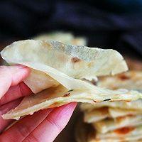 #网红美食我来做#饺子皮葱油饼的做法图解7