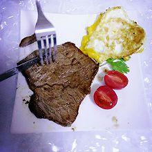 牛排在家做,西餐带回家,家庭西餐牛排的做法