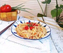 #洗手作羹汤#番茄金针菇的做法