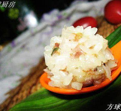 鲜虾珍珠肉丸