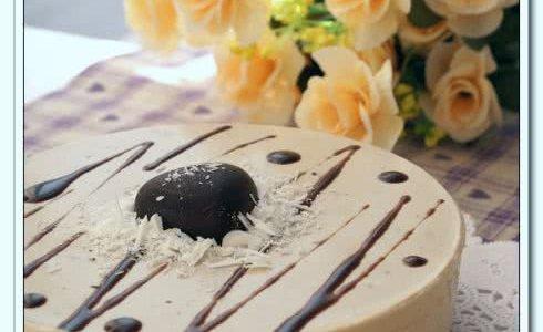 #新鲜新关系#摩卡巧克力冻芝士的做法