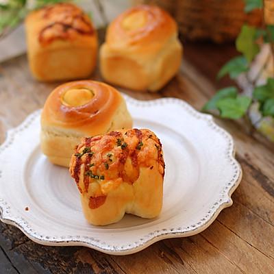 双口味小面包的做法 步骤26
