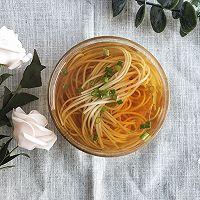 #花10分钟,做一道菜!#阳春面的做法图解4