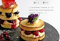 杂莓裸蛋糕的做法