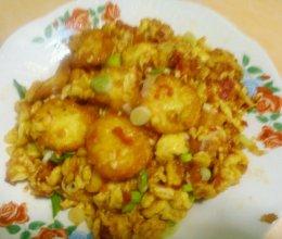 豆蛋包茄汁(斗胆包天)的做法