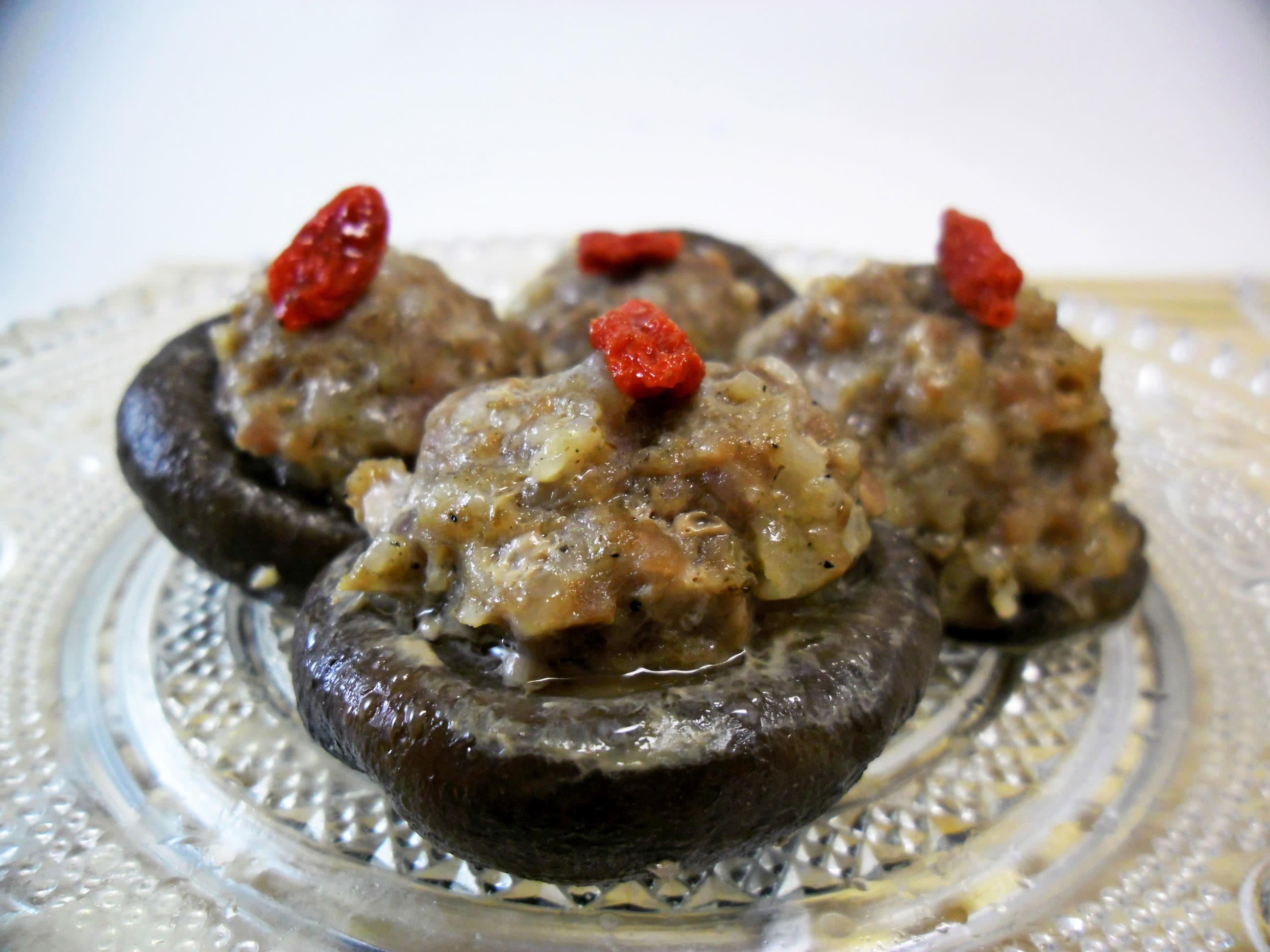 香菇酿的做法_【图解】香菇酿怎么做好吃_拾光机_家常